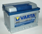 Varta Blue Dynamic 60 ОП низкая