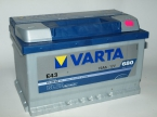 Varta Blue Dynamic 72 ОП